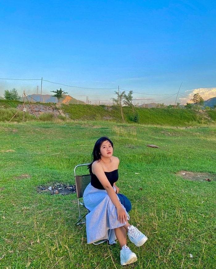 Thư giãn ở dòng sông Cu Đê