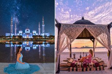 Kinh nghiệm du lịch Abu Dhabi - thành phố sa mạc giàu có nhất thế giới