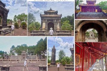 Viếng lăng Đồng Khánh thưởng ngoạn vẻ đẹp kiến trúc hài hòa cổ kim trên đất Huế