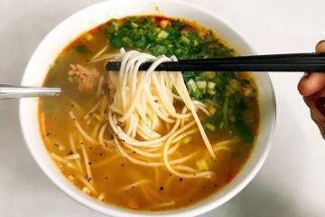 Giản dị mà thơm ngon món cháo canh Quảng Bình