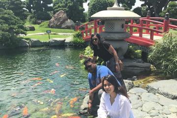 Kinh nghiệm đi công viên cá chép RinRin Park ngắm cảnh đẹp và sống ảo cực chất