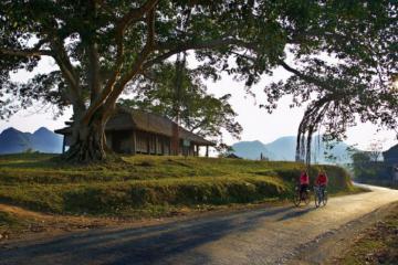 Du lịch Lạng Sơn ghé thăm đình Nông Lục Bắc Sơn hơn 100 tuổi có kiến trúc nhà sàn độc đáo  