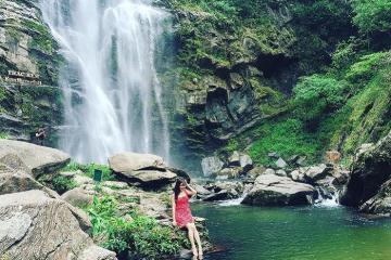 Du lịch thác Khe Kèm - chốn tiên cảnh ở Nghệ An