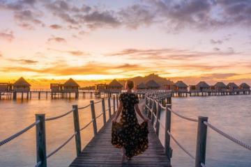 Ngắm cảnh hoàng hôn đẹp nhất thế giới ở quần đảo Fiji nằm giữa Thái Bình Dương
