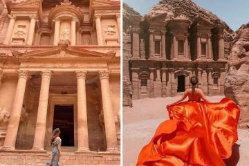 Du lịch Petra Jordan - một trong 7 Kỳ quan mới của thế giới