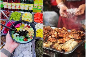'Ăn rồi lăn' tại những con phố ẩm thực ở Thái Bình tràn ngập món ngon
