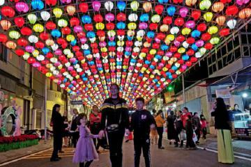 Phố đi bộ Kỳ Lừa - điểm đến hấp dẫn du khách vào dịp cuối tuần ở Lạng Sơn