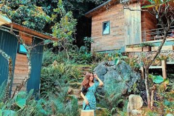 Nhà Bên Suối Mộc Châu - ngôi nhà cổ tích giữa núi đồi trùng điệp
