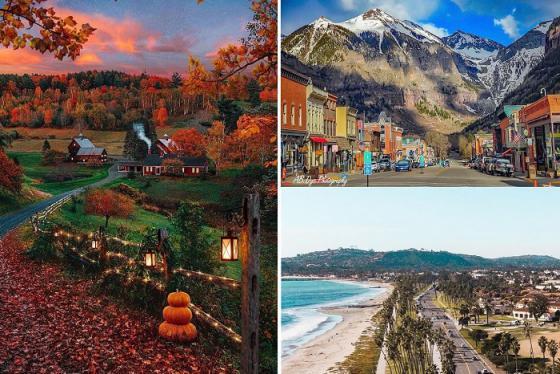 Mục sở thị các thị trấn cổ ở Mỹ đẹp như họa
