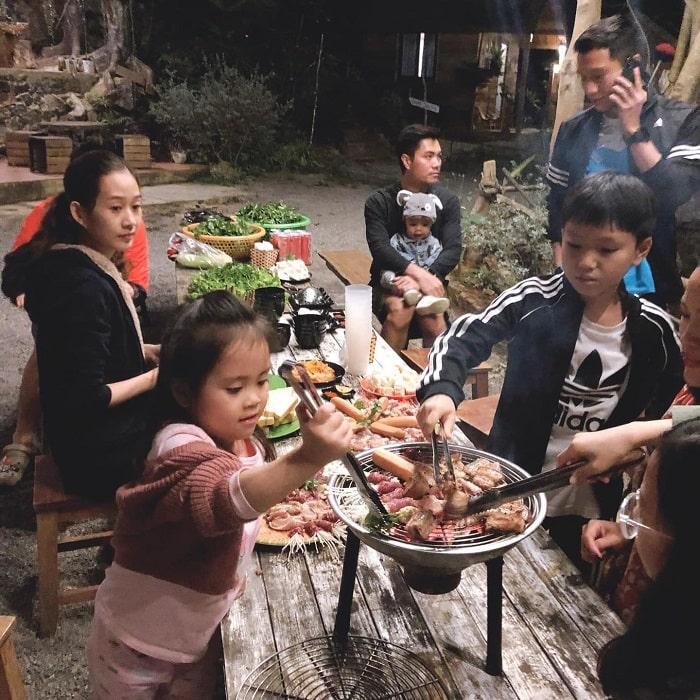 Ăn gì khi đến Nhà Bên Suối Mộc Châu