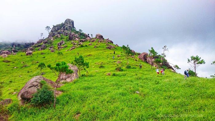 đường di chuyển Trekking Chư Nâm