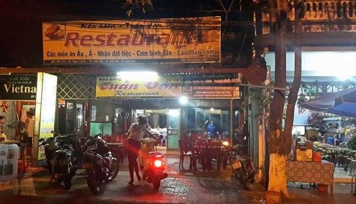 Nhà hàng Tuấn Vân - Địa chỉ quán ăn ngon ở Bắc Hà