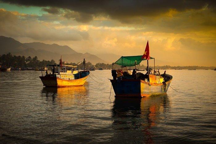 vạn giã làng chài ở Nha Trang đẹp