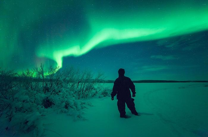 Xem Bắc Cực quang - Du lịch Rovaniemi