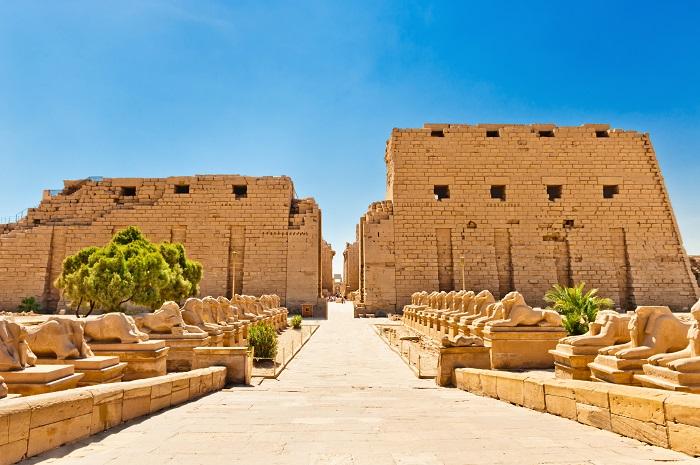 Đền Karnak ở Ai Cập