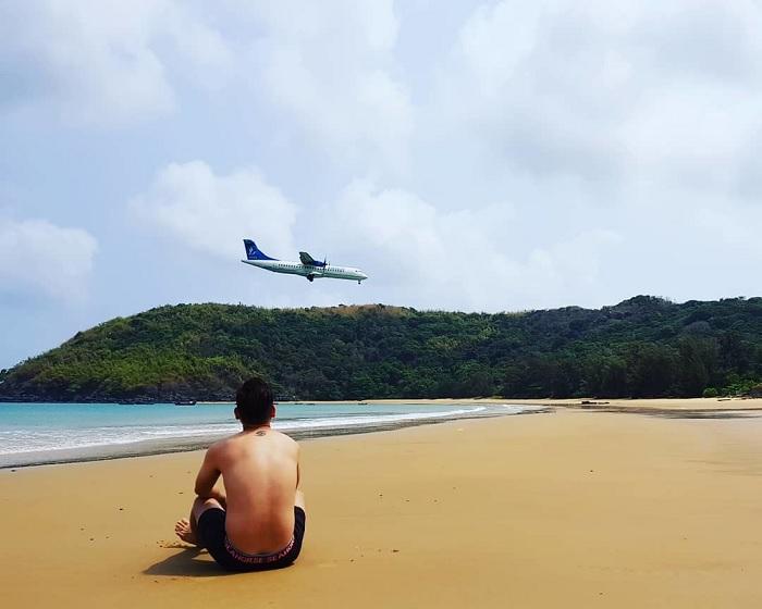 Ngắm nhìn 'ốc đảo xanh' giữa biển trời Côn Đảo mang tên Đầm Trầu