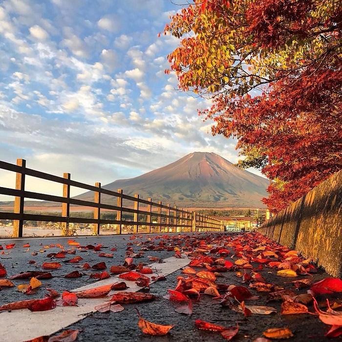 du lịch Nhật Bản mùa thu lá đỏ 2019