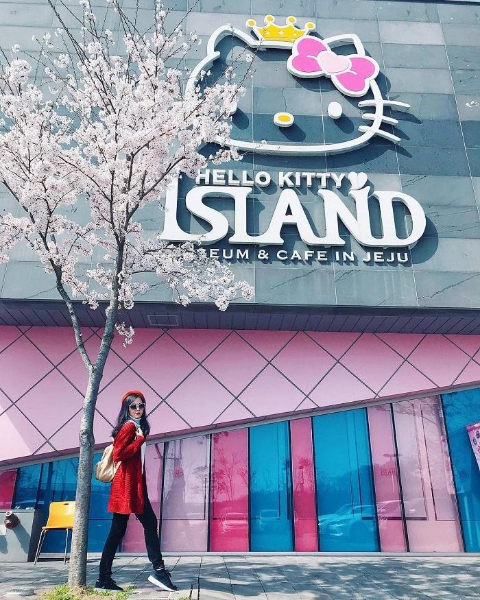 Cực yêu cực xinh khi ghé thăm đảo Hello Kitty Jeju ngọt ngào như kẹo
