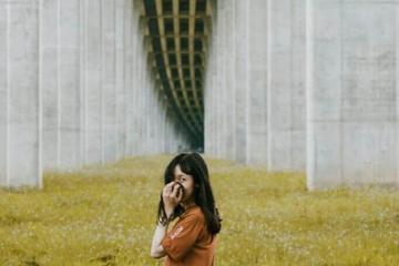 1.001 kiểu sống ảo ở chân cầu Vàm Cống Đồng Tháp