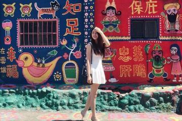 Làng Cầu Vồng - ngôi làng độc nhất vô nhị ở Đài Loan