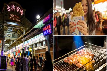 Chợ đêm Sĩ Lâm - tinh hoa ẩm thực xứ Đài