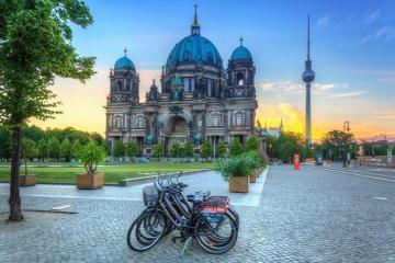 Hành trình khám phá Berlin bằng xe đạp