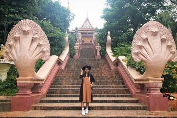 Ghé thăm đền Wat Phnom – ngôi đền linh thiêng nhất tại thủ đô Campuchia