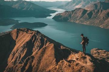 Tham qua hồ nước Wanaka New Zealand thơ mộng