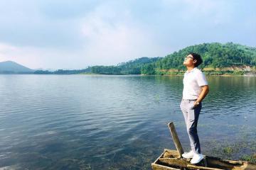 Đắm chìm trong sự nên thơ và yên bình của Hồ Trại Tiểu tại Hà Tĩnh