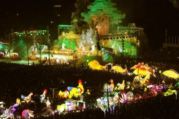 Lễ hội thành Tuyên có gì thú vị mà du khách kéo về mỗi dịp trung thu?