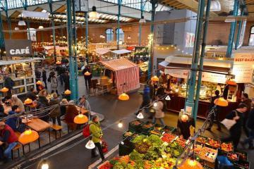 Những khu chợ ẩm thực nổi tiếng ở Berlin