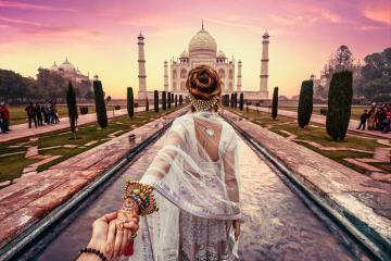 Đến cố đô Agra lắng nghe chuyện tình ở đền Taj Mahal