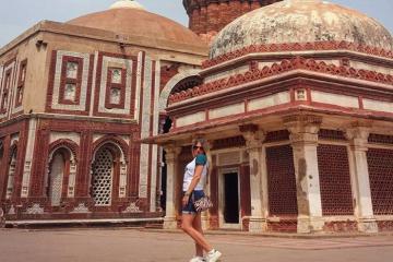 Đến New Delhi nhớ ghé thắm tháp Qutb - Niềm tự hào của Ấn Độ