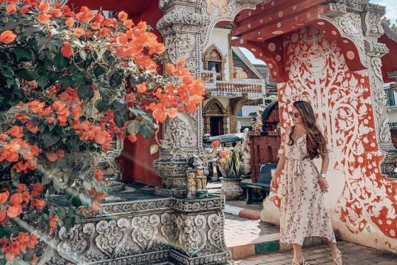 Thử một lần lạc lối ở Thái Lan trong ngôi chùa Wat Buppharam