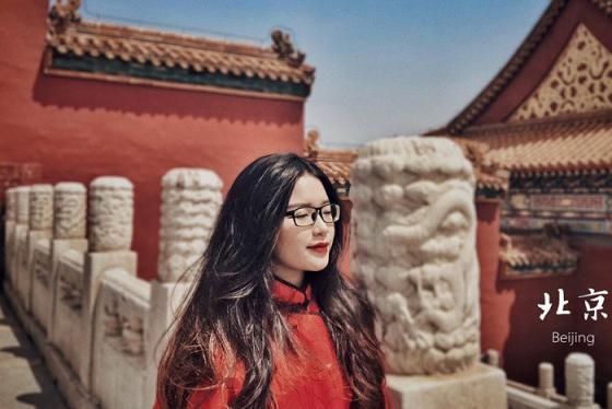 Xúng xính lên đồ check-in Tử Cấm Thành Trung Quốc