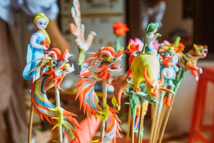 Trở về tuổi thơ với nghề nặn tò he ở Hà Nội