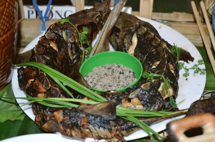 Mang Den specialties - Black Mangrove Sturgeon