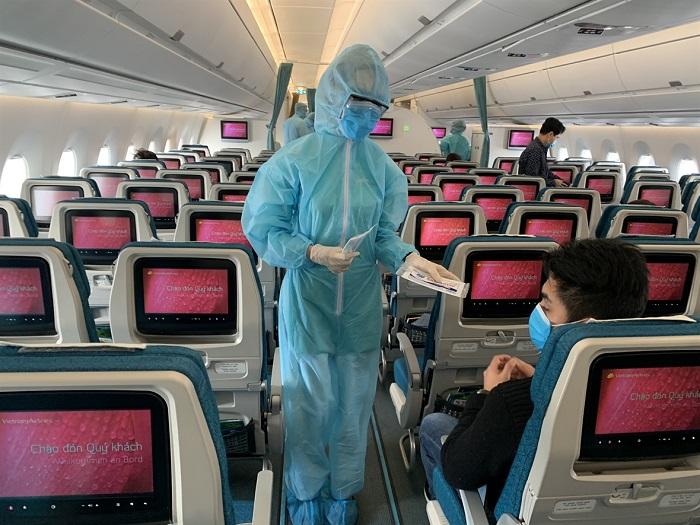 Cập nhật mới nhất các biện pháp an toàn mùa dịch của Vietnam Airlines