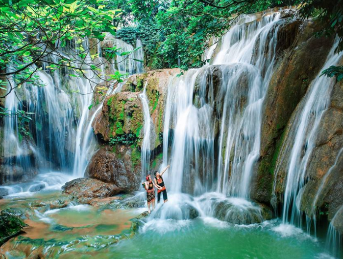 Du lịch thác Voi Thanh Hóa