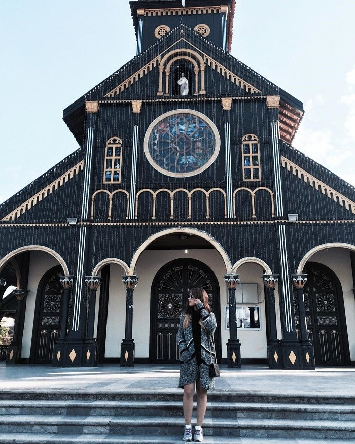 Kon Tum Wooden Church - The only Basilica-style wooden architectural masterpiece in the world