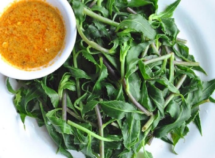Mang Den specialties - forest vegetables