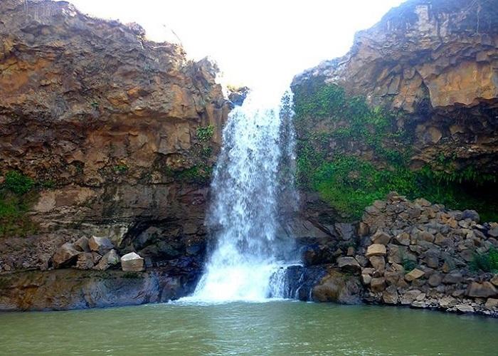 Thác Xung Khoeng - ngọn thác tuyệt đẹp ở Gia Lai đã đến là không muốn về