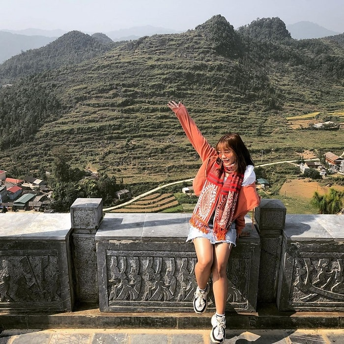 Tham quan cột cờ Lũng Cú Hà Giang