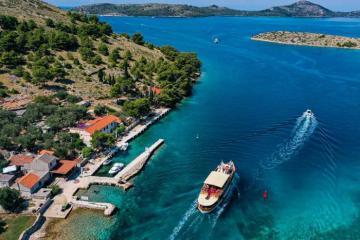Lạc vào mê cung trên biển ở quần đảo Kornati Croatia