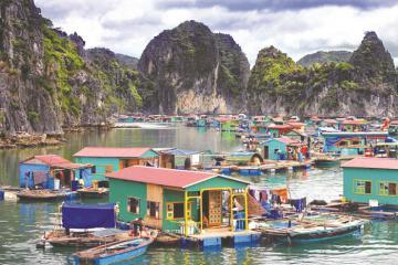 Du lịch Hạ Long ghé thăm làng chài Vung Viêng ngắm cảnh đẹp và yên bình