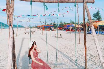 Bãi biển Tân Cảnh Dương Huế - điểm dừng chân lý tưởng cho chuyến du lịch khó quên