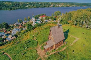 Du lịch trên sông Volga ngắm cảnh làng quê nước Nga đẹp như tranh vẽ
