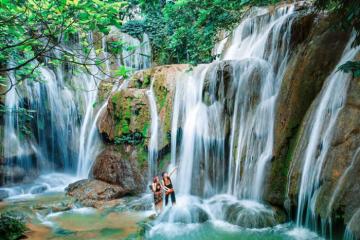 Du lịch thác Voi – điểm đến hoang sơ đẹp tựa tiên cảnh của xứ Thanh