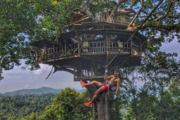 Trở về tự nhiên trong khu bảo tồn thiên nhiên Bokeo nước Lào