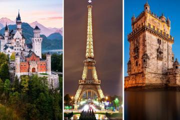 Chiêm ngưỡng những kỳ quan kiến trúc hàng đầu của châu Âu